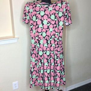 LuLaRoe Floral Amelia Dress